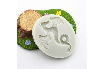 Animal Series Dinosaur Dragon Silicone Mould for Cake Topper Decoration Jelly Shots Ice Cube Candy Gum Paste Fondant Mould Handmade Crafts Soap Mould Chocolate Cupcake