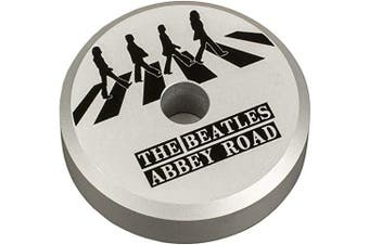 (The Beatles Abbey Road) - Crosley CR9100A-AR Aluminium 45 Adapter, The Beatles Abbey Road