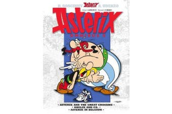 Asterix Omnibus 8: Includes Asterix and the Great Crossing #22, Obelix and Co. #23, and Asterix in Belgium #24