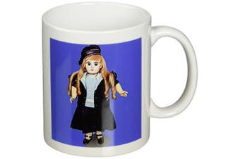 (330ml) - 3dRose Antique Jumeau Doll, Ceramic Mug, 330ml