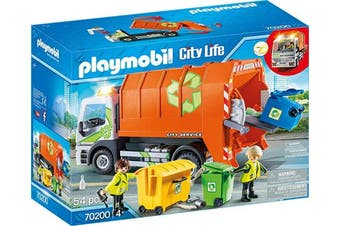 Playmobil 70200 Garbage Recycling Truck City Life