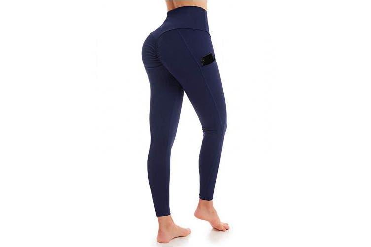 Yoga Side Pockets High Waist Workout Running - WF Shopping