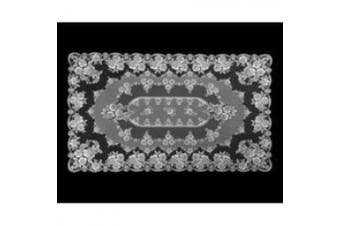 Heritage Lace Victorian Rose 152.4cm by 213.4cm Tablecloth, Ecru