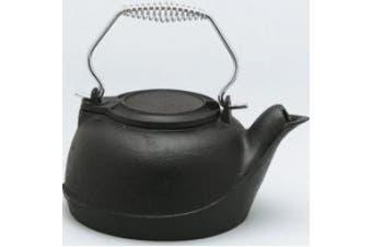 Uniflame 801702 Cast Iron Kettle Style Humidifier, 2.4l Black