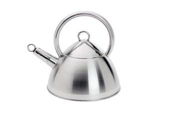 (2.3l) - Cuisinox KET77 Cuisinox 2.4 Qt Whistling Kettle - 1.8 Stainless steel