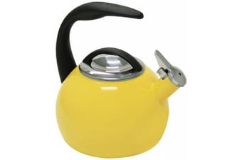 (Canary Yellow) - Chantal 40th Anniversary 1.9l Enamel on Steel Canary Yellow Tea Kettle