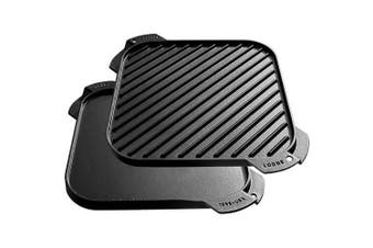 (3) - Lodge Single Burner Cast Iron Reversible Griddle LSRG3