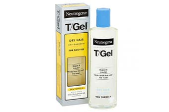 Neutrogena T/Gel Anti-Dandruff Shampoo for Dry Hair, 250 ml