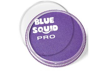 (Purple) - Blue Squid Pro Face Paint – Classic Purple (30gm), Superior Quality Professional Water Based Single Cake, Face & Body Makeup Supplies for Adults, Kids & SFX