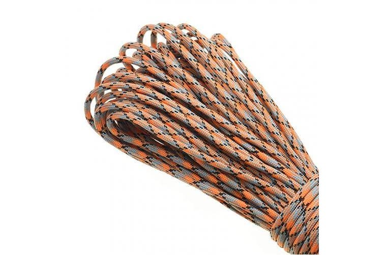 (Color 219) - sacoora 1pcs 30m 550 Paracord Parachute Cord Lanyard Mil Spec Type III 7 Strand Core
