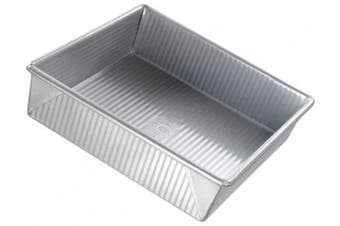 (23cm  Square) - USA Pan Non-Stick 22.9cm Square Cake Pan