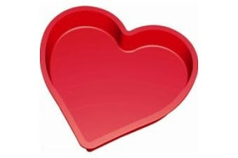 Lekue Heart Cake Mould, Red
