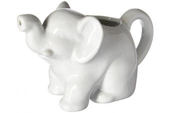 (Elephant, 10-Ounce) - HIC Porcelain 300ml Elephant Creamer NT957 270ml