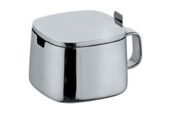A di Alessi Sugar Bowl, Stainless Steel, (A404)