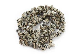 (black) - Natural Irregular Chips Stone Beads Crushed Chunked Beads Healing Home Decor Loose Beads Repair Kit (8-12mm)