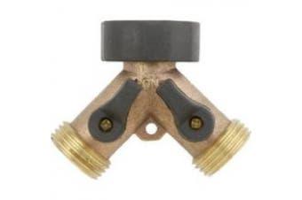 Gilmour 13GT 2-Way Hose to Faucet Y-Connector
