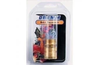 Dramm 10-22729 Quick Disconnect Brass, Brass