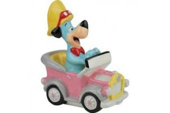 Westland Giftware Huckleberry Hound in Car Salt and Pepper Shakers