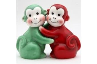 Appletree Design Monkey Salt and Pepper Set 7.9cm