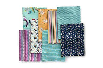 (Fresh Picked) - ADORNit, Half Yard Fabric Combo Pack for Quilting - Fresh Picked