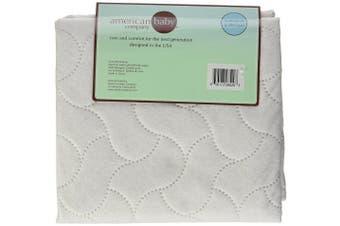 (Porta/Mini Crib Pad 60cm x 12m) - American Baby Company Waterproof Mini Crib Sheeting