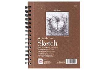 Strathmore Sketch Pad - 400 Series A5 (100 Sheets)