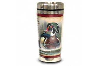 (Wood Duck) - American Expedition Wildlife Steel Travel Mug Wood Duck