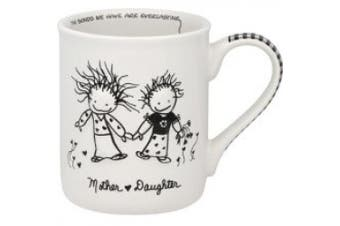Marci Children of the Inner Light Porcelain Mug, Mother/Daughter