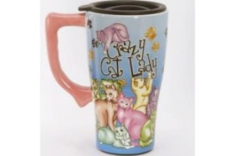 *Crazy Cat Lady* Travel Mug