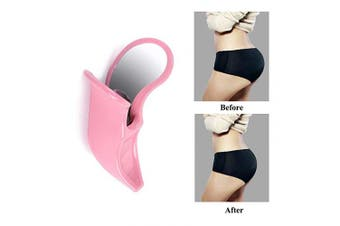 (pink) - Hankyky Thin buttocks Hips folder Shaper, Pelvic Floor Muscle Medial Trainer,Inner Thigh Exerciser,Hips Muscle Trainer,Bladder Controller Correction,Beautiful Buttocks Bladder Protector