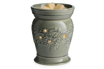 (Perennial) - CANDLE WARMERS ETC. Illumination Fragrance Warmer- Light-Up Warmer for Warming Scented Candle Wax Melts and Tarts or Essential Oils to Freshen Room, Perennial