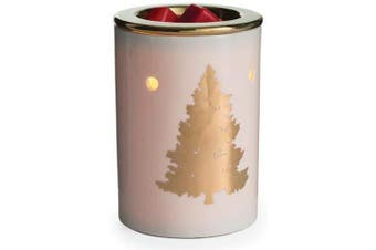 (Golden Fir) - CANDLE WARMERS ETC. Illumination Fragrance Warmer- Light-Up Warmer for Warming Scented Candle Wax Melts and Tarts or Essential Oils to Freshen Room, Golden Fir