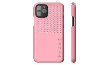 (iPhone XS Max, Arctech Slim, Quartz Pink) - Razer Arctech Slim for iPhone Xs Max Case: Thermaphene & Venting Performance Cooling - Wireless Charging Compatible - Quartz Pink