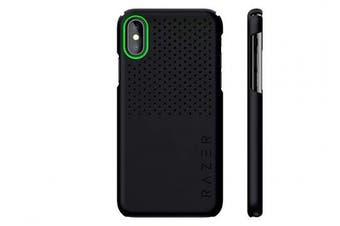 (iPhone XS, Arctech Slim, Matte Black) - Razer Arctech Slim for iPhone Xs Case: Thermaphene & Venting Performance Cooling - Wireless Charging Compatible - Matte Black