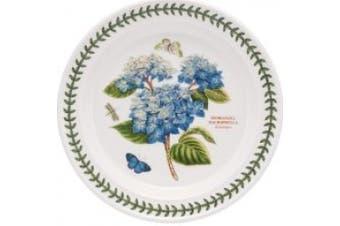 Portmeirion Dinnerware, Botanic Garden Blue Hydrangea Dinner Plate