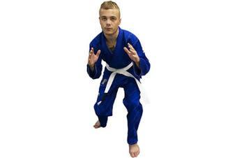 (A0, Blue.) - REEVO The Guard X Ultra Light Brazillian Jiu Jitsu Kimono/Uniform BJJ Gi
