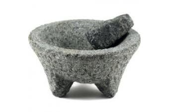 MBR Industries BC-42205 Extra Large Granite Mortar and Pestle Molcajete Set
