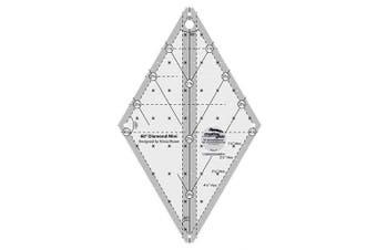 Creative Grids 60 Degree Mini Diamond Ruler CGR60DIAMINI