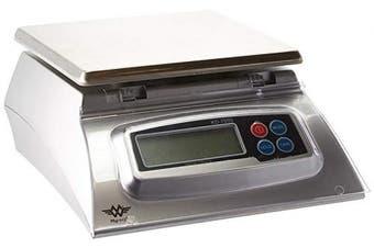(1, Original Packaging) - My Weigh KD-7000 Digital Stainless-Steel Food Scale. Silver