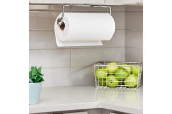 (Chrome, Awavio Wall Mount) - InterDesign Paper Towel Holder, Awavio Wall Mount for Kitchen - Chrome