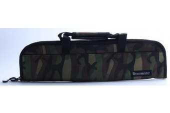 (5-Pocket, Camouflage) - Messermeister 5-Pocket Padded Knife Bag in Specialty Fabric, Camouflage