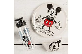 (Melamine Bowl, Disney Mickey Mouse) - Zak Designs MMNP-0361-B Kid's Soup Bowl, Melamine, Disney Mickey Mouse