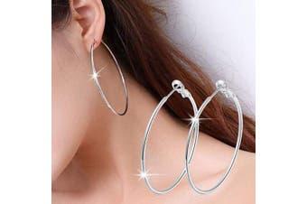 """(XL 2.36"""") - Chargances Women Halloween Hoop Earrings Bohemia XL Hoop Earrings Fashion Women Festival Halloween Huggie Earrings for Women and Girls (XL (2.36""""/6cm}))"""