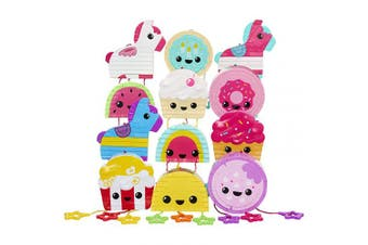 Piñata Fiesta Mini Collectible Piñatas Bursting with Surprises! (Assorted) 12 Super Adorable Designs to Collect! Which One Will You Get. for Kids Ages 4+