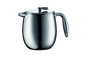 (500ml) - Bodum COLUMBIA Coffee Maker, Thermal French Press Coffee Maker, Stainless Steel, 500ml