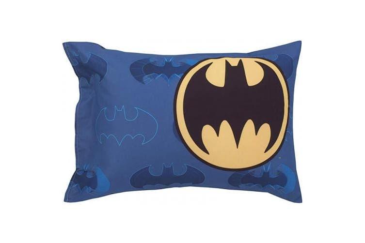 (Batman - 2 Pc Toddler Sheet Set) - Batman 2-Piece Toddler Sheet Set