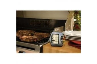 (Silver) - The Companion Group CC4073 Steak Station Digital Meat Thermometer