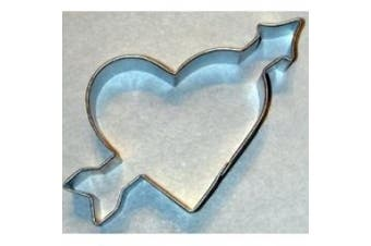 R and M Heart W/arrow Cookie Cutter 4.