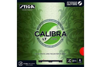 (2, Red) - STIGA Calibra LT Sound Table Tennis Rubber