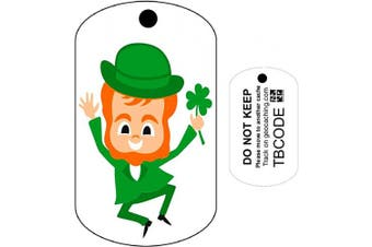 Lucky the Leprechaun (Travel Bug) For Geocaching Trackable Tag Unactivated Code NEW